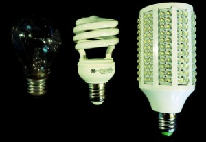 Lightbulb, Fluorescent, LED
